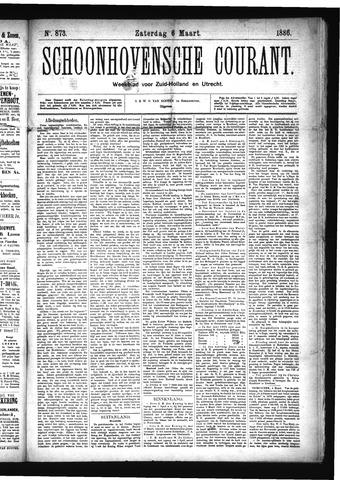 Schoonhovensche Courant 1886-03-06