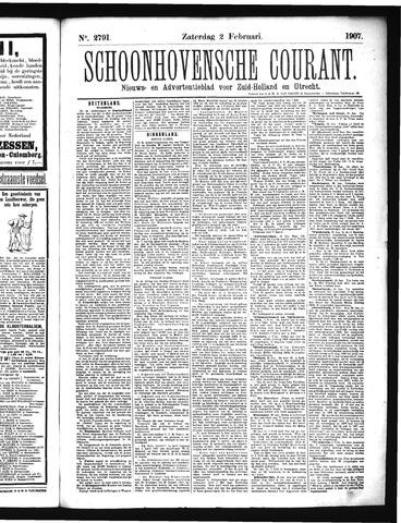Schoonhovensche Courant 1907-02-02