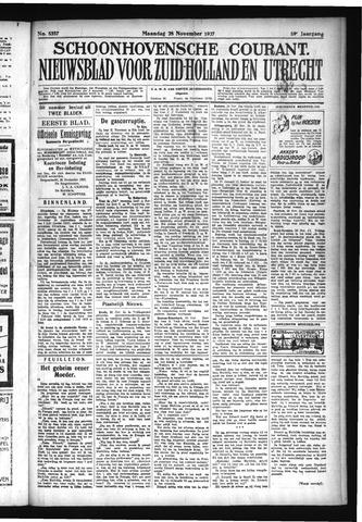 Schoonhovensche Courant 1927-11-28