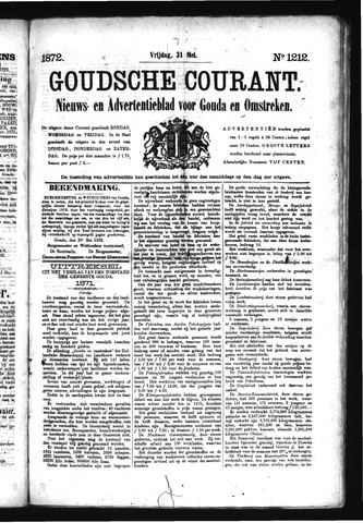 Goudsche Courant 1872-05-31