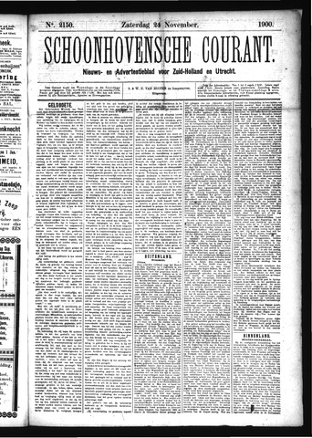 Schoonhovensche Courant 1900-11-24