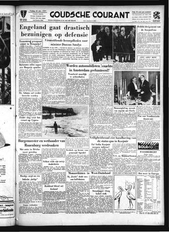Goudsche Courant 1957-01-25