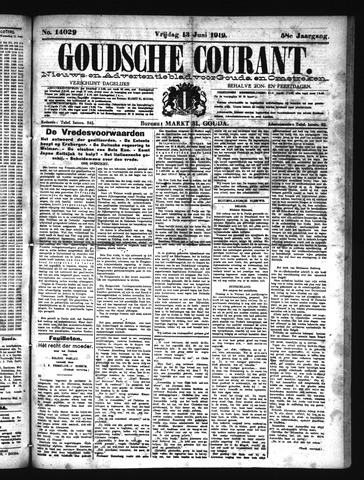 Goudsche Courant 1919-06-13