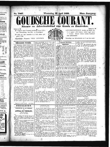 Goudsche Courant 1899-04-19