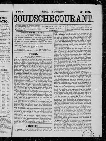 Goudsche Courant 1865-09-17