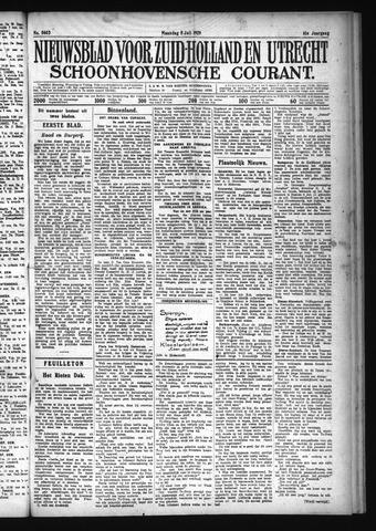 Schoonhovensche Courant 1929-07-08