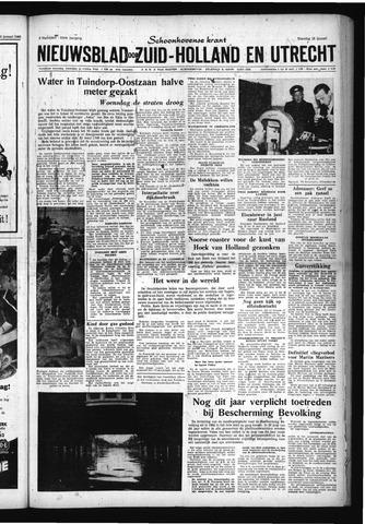 Schoonhovensche Courant 1960-01-18