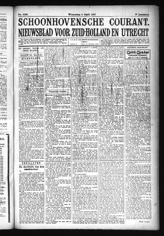 Schoonhovensche Courant 1927-04-06
