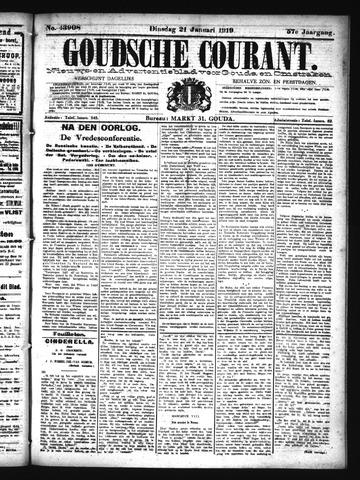 Goudsche Courant 1919-01-21