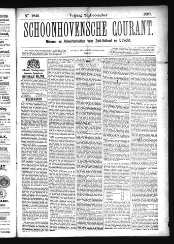 Schoonhovensche Courant 1897-12-24
