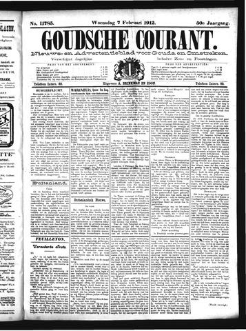 Goudsche Courant 1912-02-07
