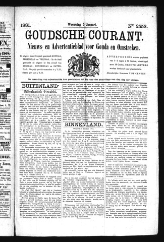 Goudsche Courant 1881-01-05