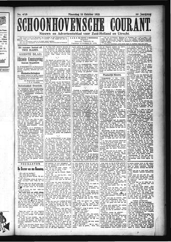 Schoonhovensche Courant 1923-10-15