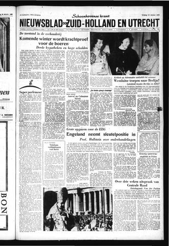 Schoonhovensche Courant 1962-10-12