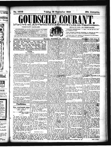 Goudsche Courant 1919-09-19