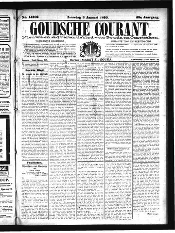 Goudsche Courant 1920-01-03