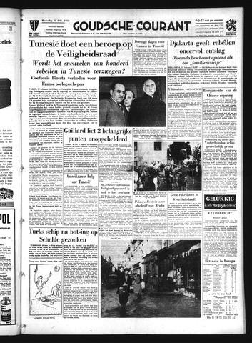 Goudsche Courant 1958-02-12
