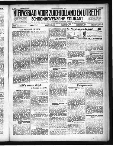 Schoonhovensche Courant 1935-12-04