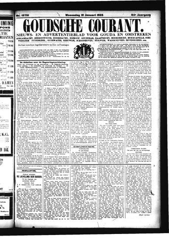 Goudsche Courant 1925-01-21