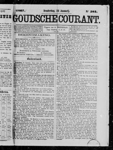 Goudsche Courant 1867-01-24