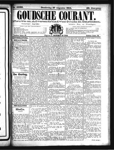 Goudsche Courant 1914-08-27