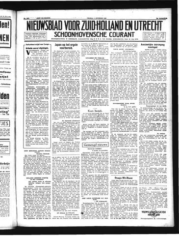 Schoonhovensche Courant 1941-08-01