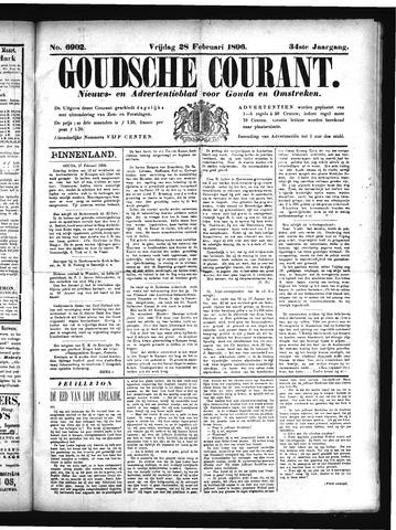 Goudsche Courant 1896-02-28