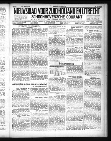 Schoonhovensche Courant 1936-02-05