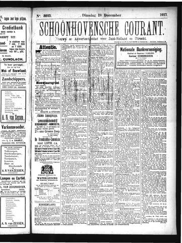 Schoonhovensche Courant 1917-12-18