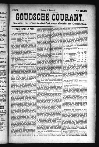 Goudsche Courant 1888-01-08
