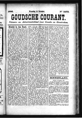 Goudsche Courant 1886-11-24