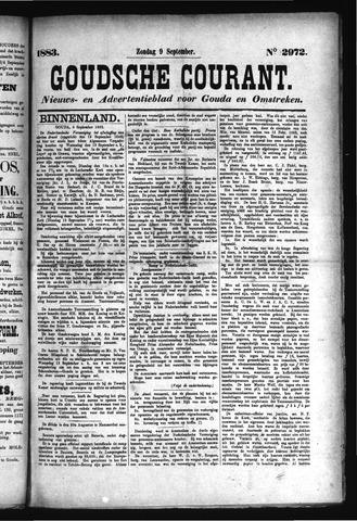 Goudsche Courant 1883-09-09