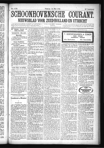 Schoonhovensche Courant 1926-05-21