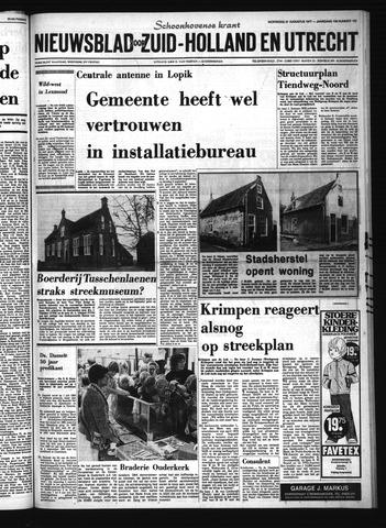 Schoonhovensche Courant 1977-08-31
