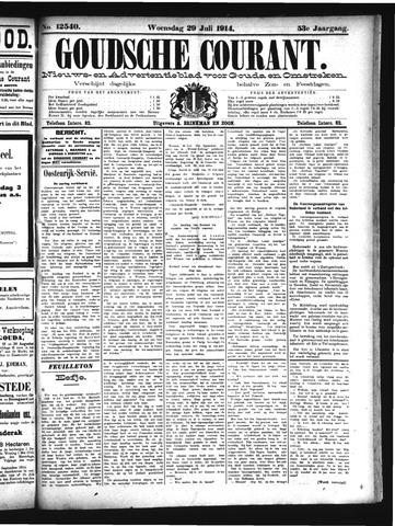 Goudsche Courant 1914-07-29