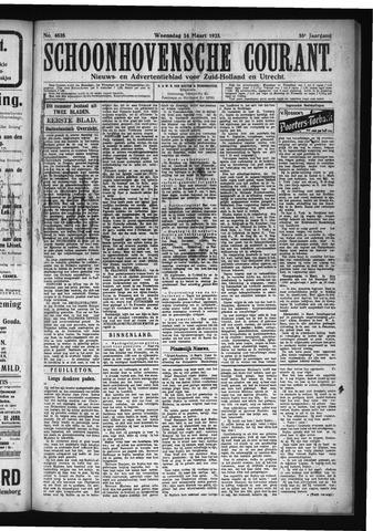Schoonhovensche Courant 1923-03-14