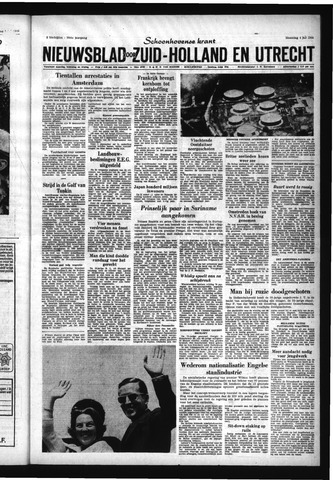 Schoonhovensche Courant 1966-07-04