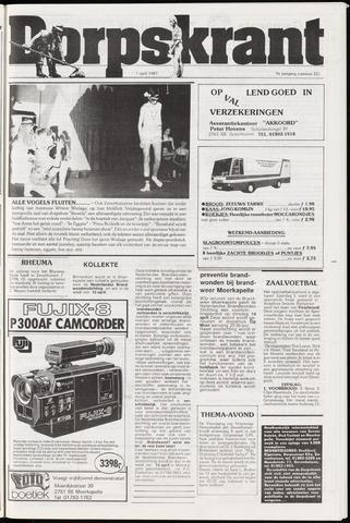 Dorpskrant 1987-04-01