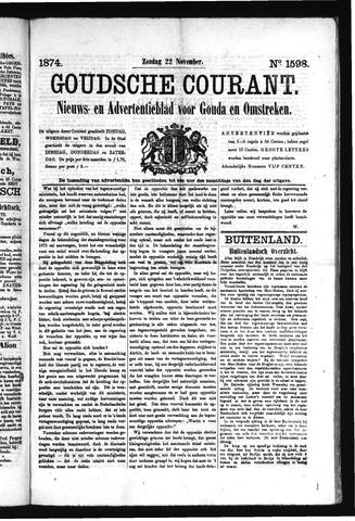 Goudsche Courant 1874-11-22