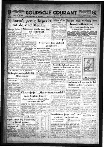 Goudsche Courant 1957-01-02