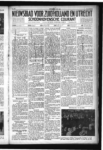 Schoonhovensche Courant 1932-04-20