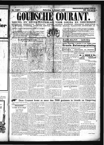Goudsche Courant 1930-01-04
