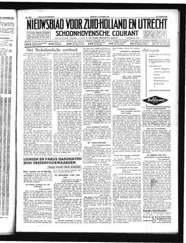 Schoonhovensche Courant 1939-10-06