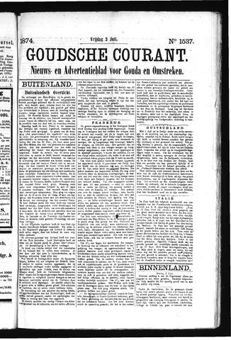 Goudsche Courant 1874-07-03