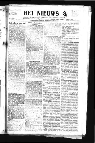 Schoonhovensche Courant 1945-06-27