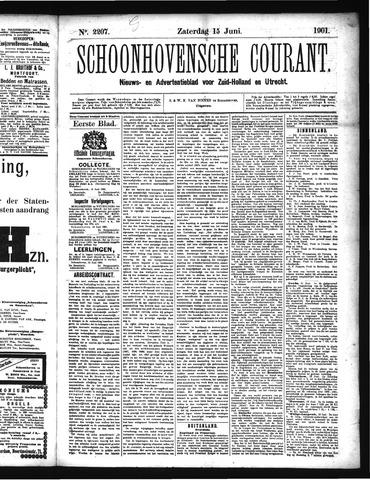 Schoonhovensche Courant 1901-06-15