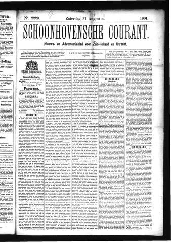 Schoonhovensche Courant 1901-08-31