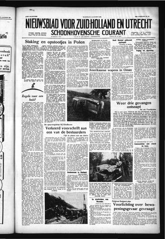 Schoonhovensche Courant 1957-08-14