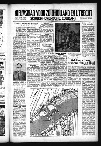 Schoonhovensche Courant 1954-08-23