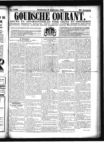 Goudsche Courant 1930-09-18
